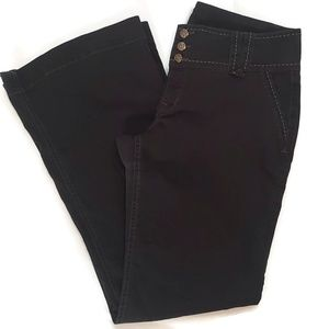 👻Black flare pants size 13